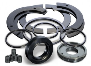 Custom molded rubber products - Support Plates, s-seals, PE seals and more